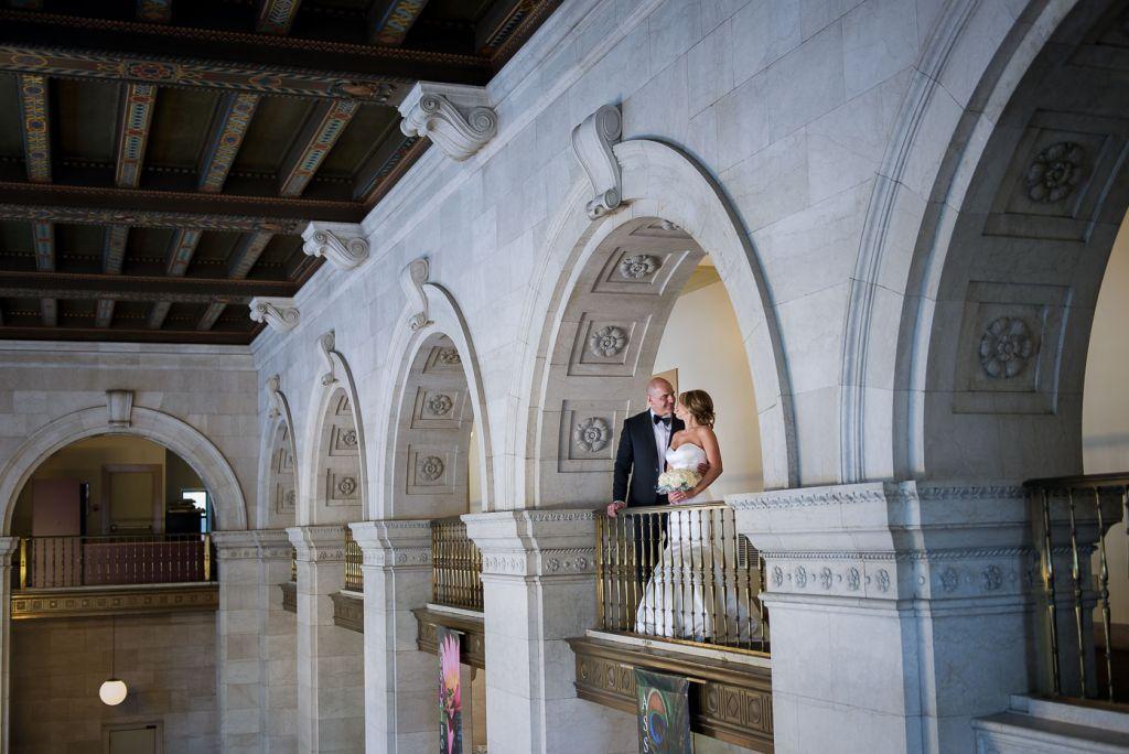 wedding bride groom architecture