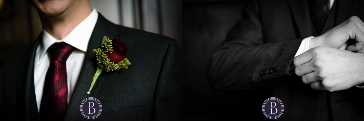 groom tuxedo details