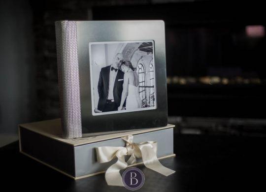 Luxury Handcrafted Wedding Album Details