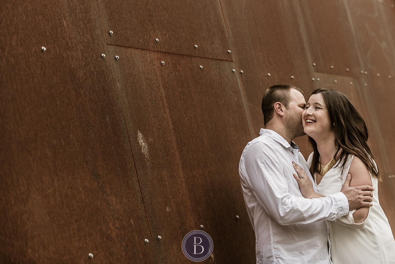 Assiniboine Park Engagement Photos couple in love