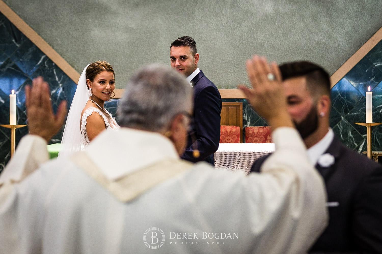 catholic ceremony Winnipeg wedding