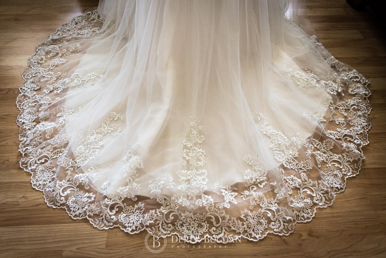 brides dress details Winnipeg
