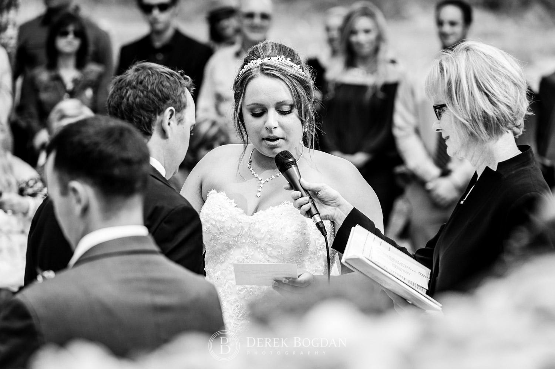 bride ceremony vows speech