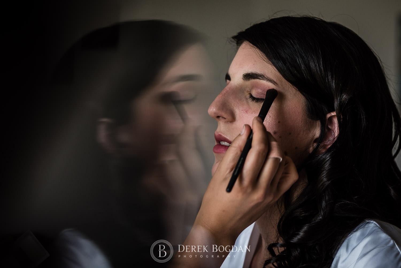 bridal makeup Manitoba wedding