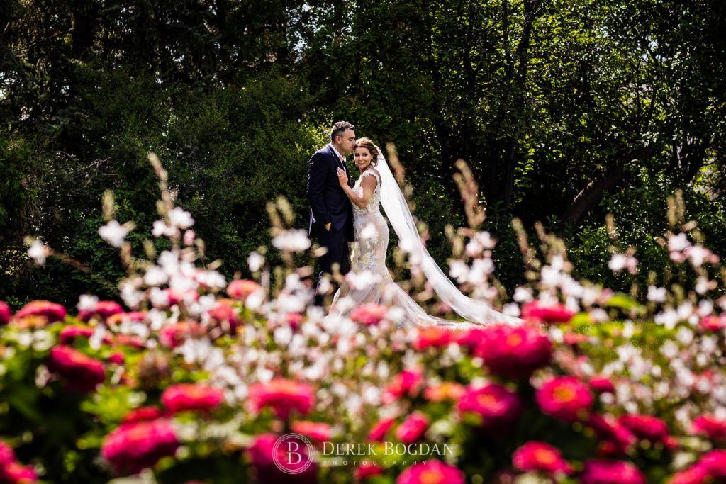 beautiful bride custom wedding gown Winnipeg top wedding photographer
