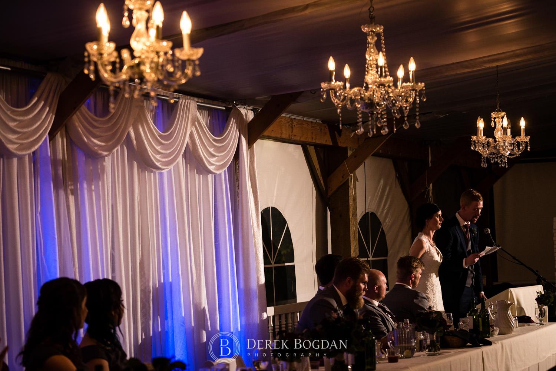 speeches Evergreen Village Wedding Niverville Manitoba