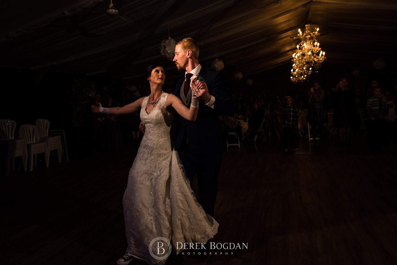 first dance bride groom Evergreen Village Wedding Niverville Manitoba