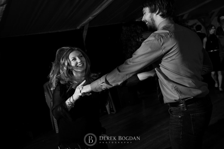 couple dancing fun Evergreen Village Wedding Niverville Manitoba