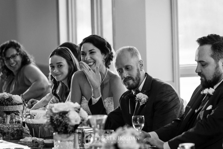 Bel Acres Golf Wedding reception speech for groom