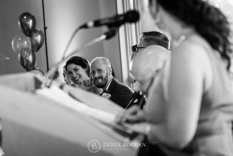 Bel Acres Golf Wedding reception speeches