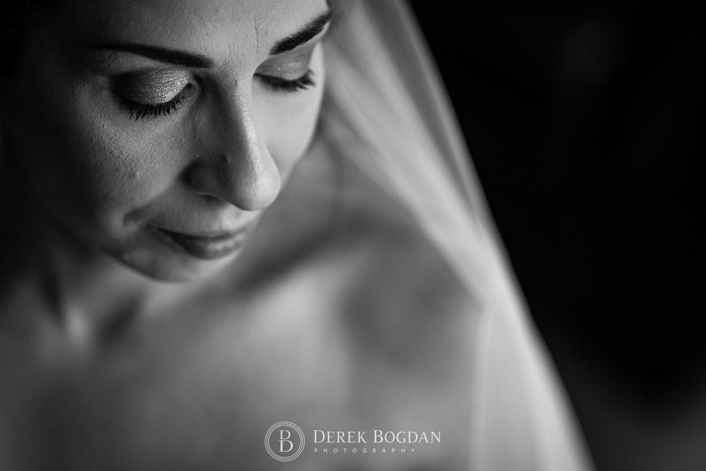 Bel Acres Golf wedding Manitoba bride getting ready bridal beauty portrait close up face