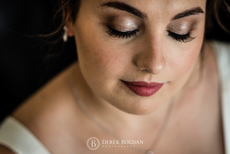 Bridal makeup wedding day