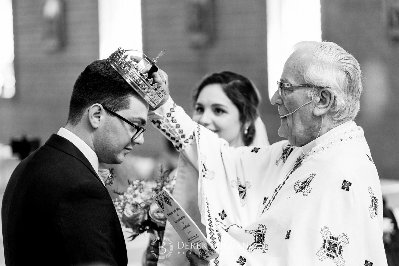 Ukrainian church wedding catholic ceremony details crowning Ukrainian church wedding