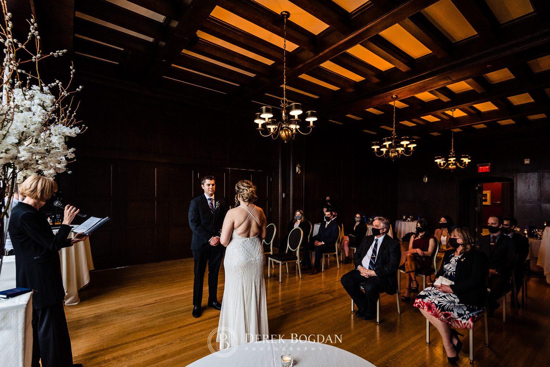 Manitoba club wedding ceremony, Colleen Olafson, Marriage Commissioner